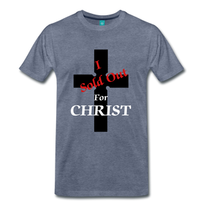 Sold Out For CHRIST - heather blue