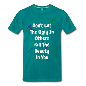 Ugly in Others. - teal