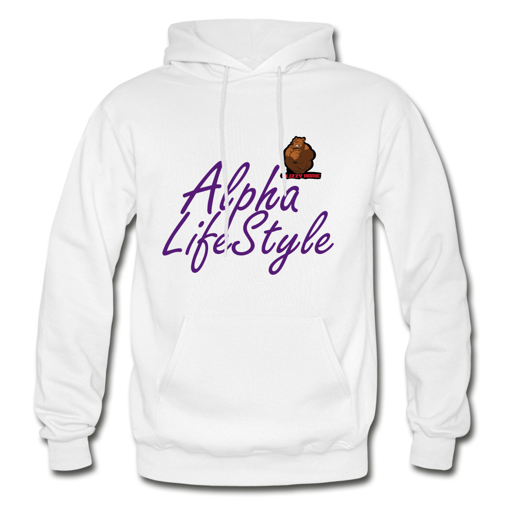 Woman's Alpha LifeStyle Hoodie - white