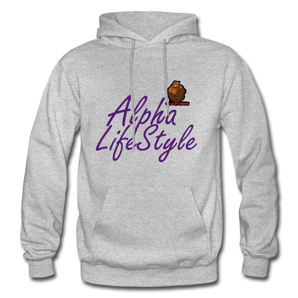 Woman's Alpha LifeStyle Hoodie - heather gray