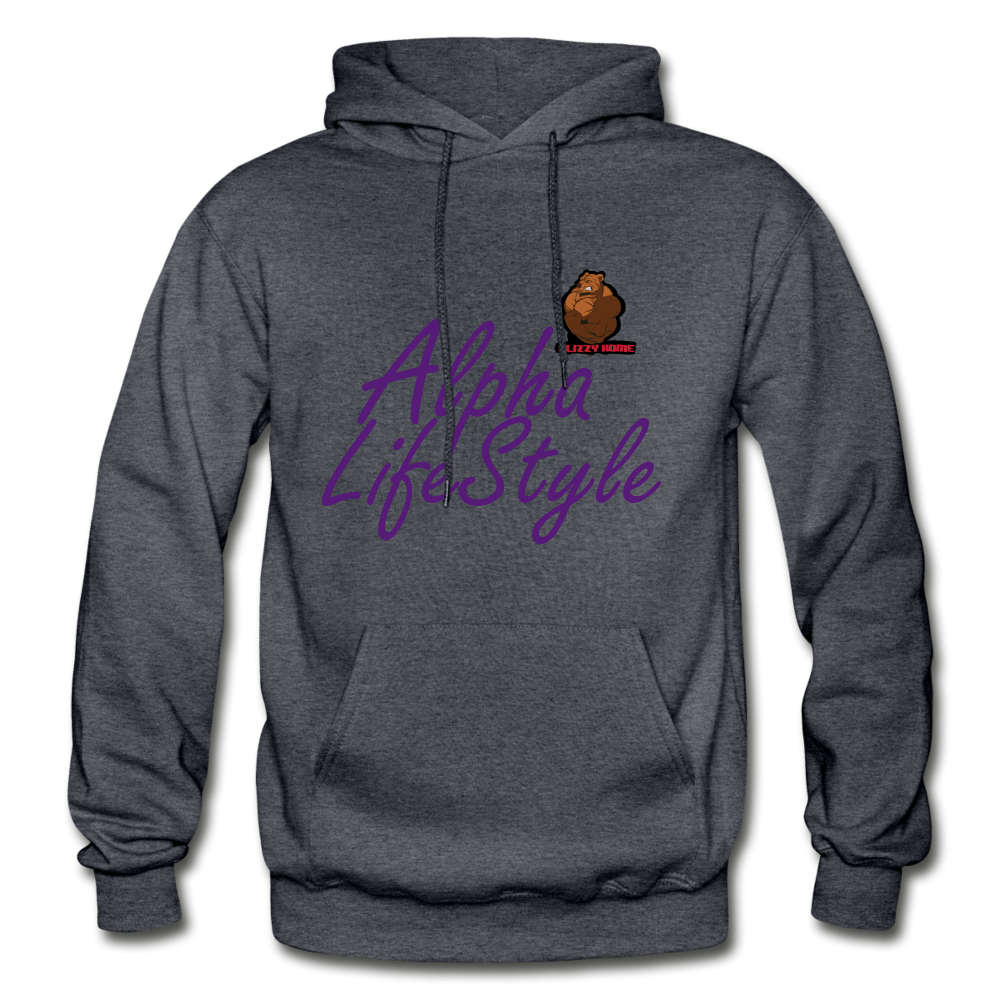 Woman's Alpha LifeStyle Hoodie - charcoal gray