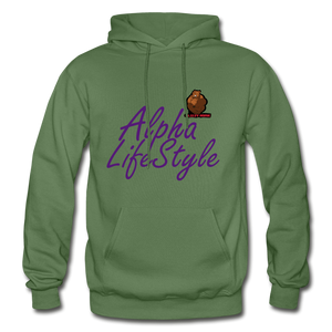 Woman's Alpha LifeStyle Hoodie - military green