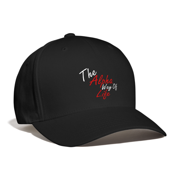 The Alpha Way Of Life Cap - black