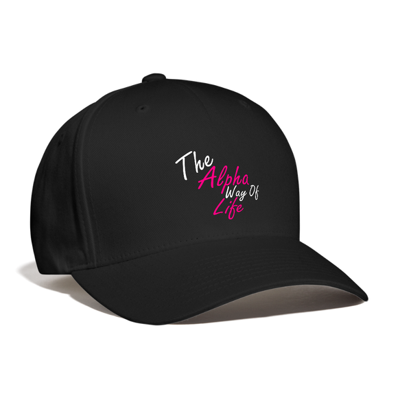 Woman's Alpha Way Of Life Cap - black