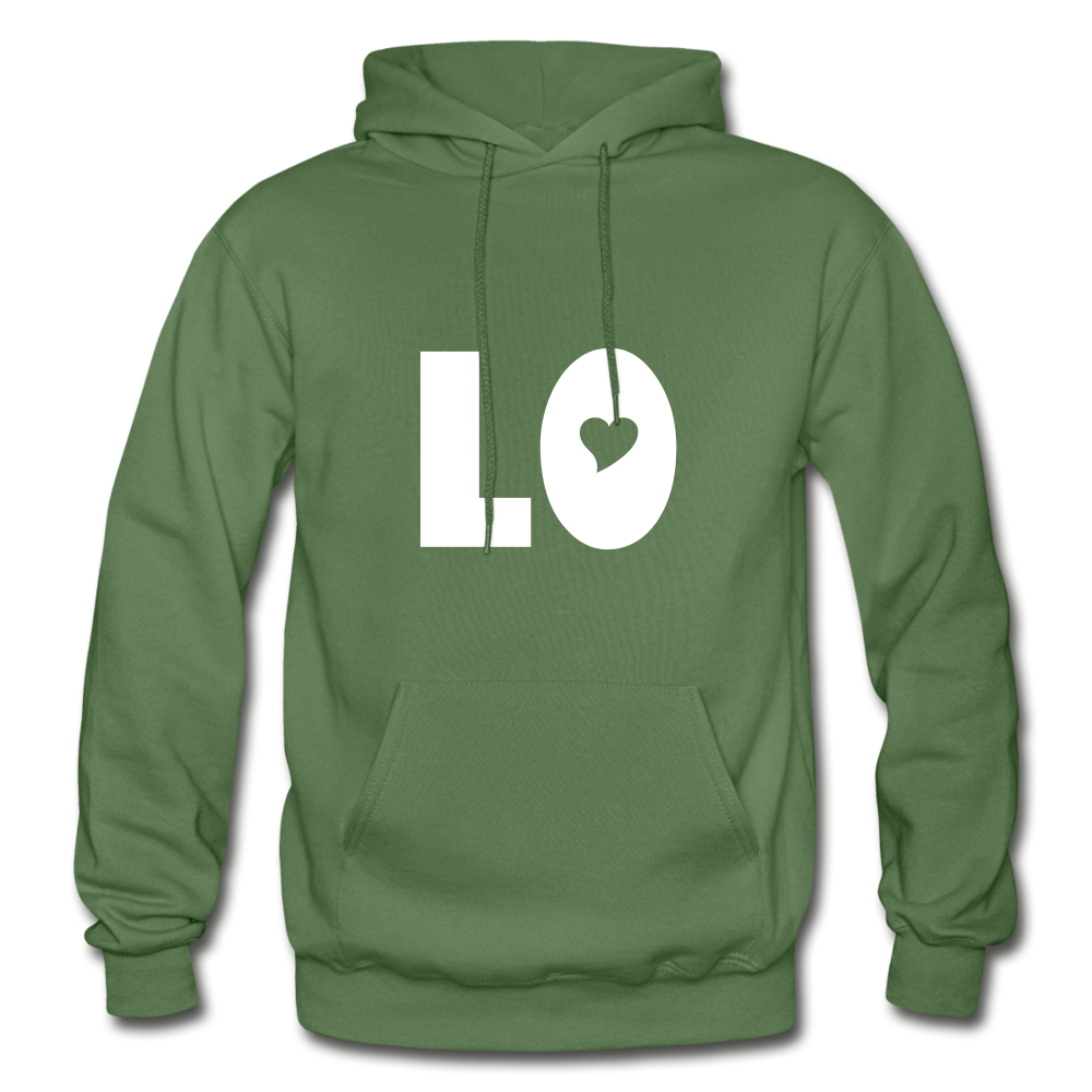 Love Her's Hoodie - military green