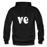 Love His/Hers Hoodie - black