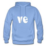 Love His/Hers Hoodie - carolina blue
