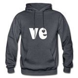 Love His/Hers Hoodie - charcoal gray