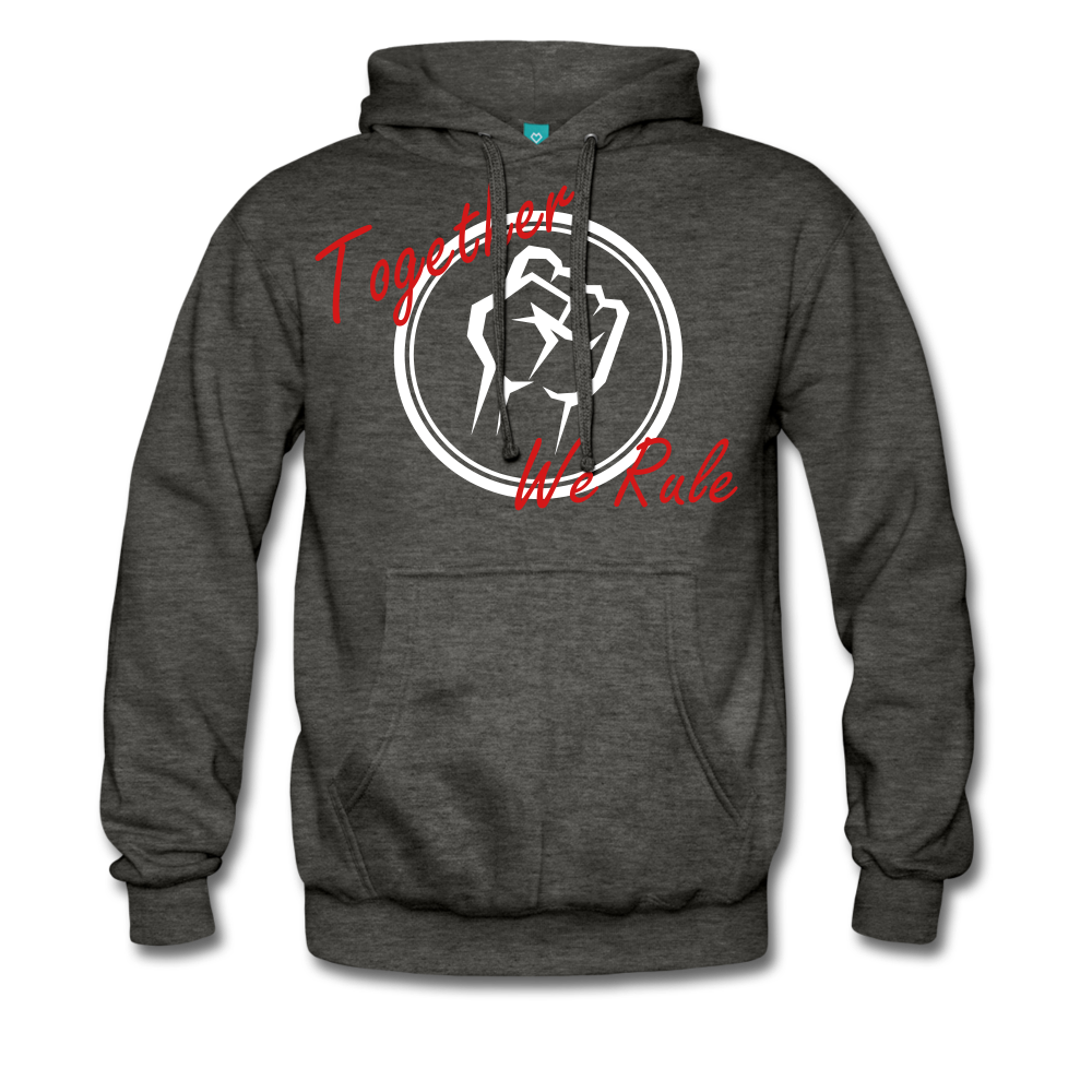 Together We Rule Hoodie. - charcoal
