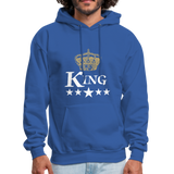 King Hoodie - royal blue