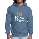 King Hoodie - denim blue