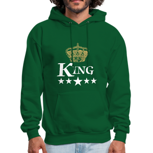 King Hoodie - forest green