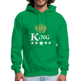 King Hoodie - kelly green