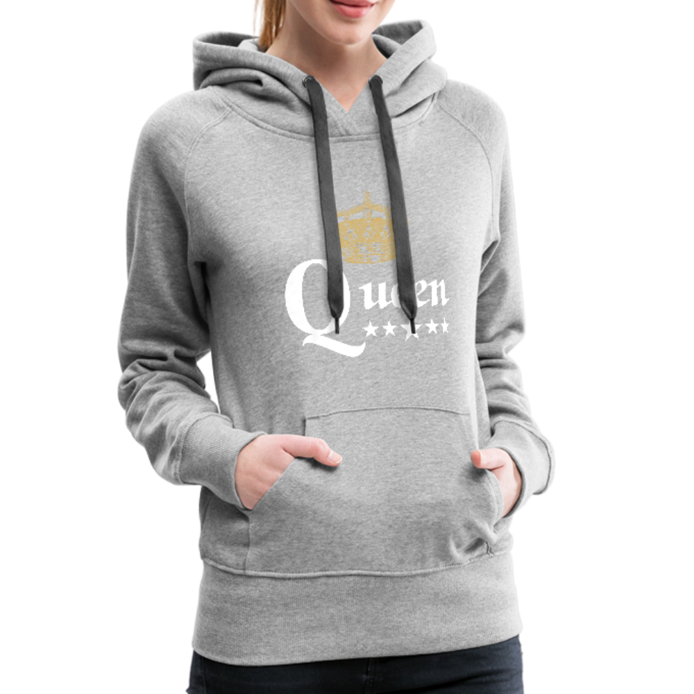 Queen Hoodie - heather gray