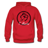 I am Hoodie - red