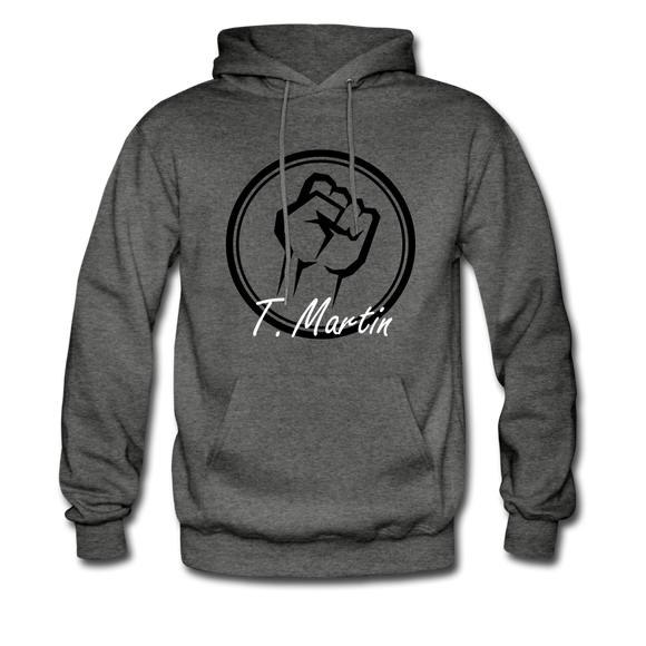 I am Hoodie - charcoal gray