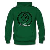 I am Hoodie - forest green