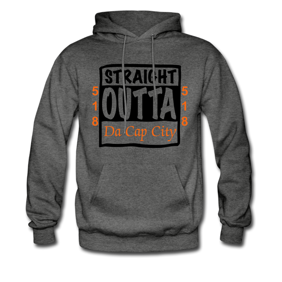 Straight Outta Da Cap. - charcoal gray
