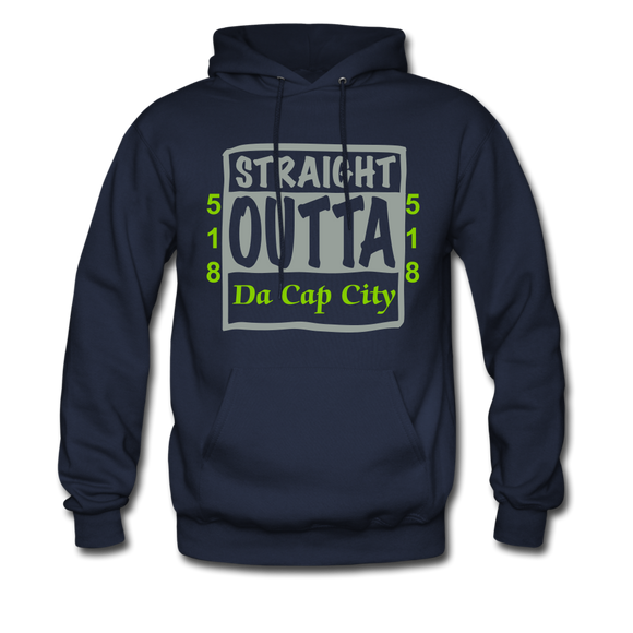 Straight Outta Da Cap - navy