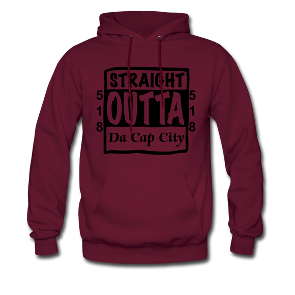 Straight Outta Da Cap.. - burgundy