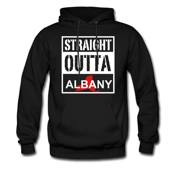 Straight Outta Albany - black