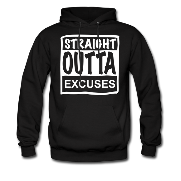 Straight Outta Excuses - black