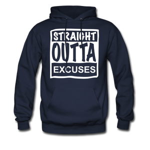 Straight Outta Excuses - navy