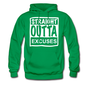 Straight Outta Excuses - kelly green
