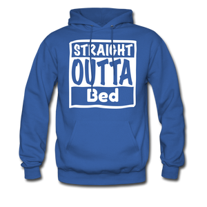 Straight Outta Bed - royal blue