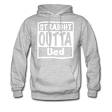 Straight Outta Bed - heather gray