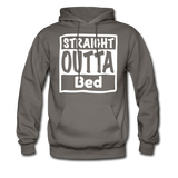 Straight Outta Bed - asphalt gray