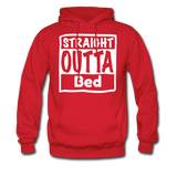 Straight Outta Bed - red