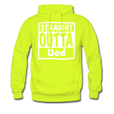 Straight Outta Bed - safety green