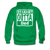 Straight Outta Bed - kelly green