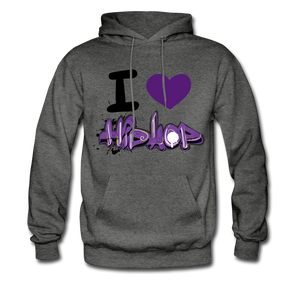 I Love HipHop. - charcoal gray
