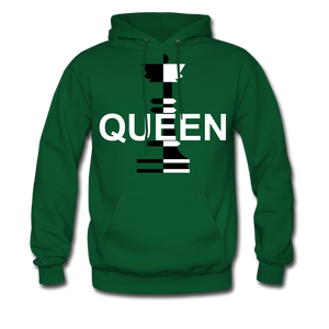 QUEEN - forest green