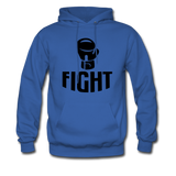 Fight - royal blue