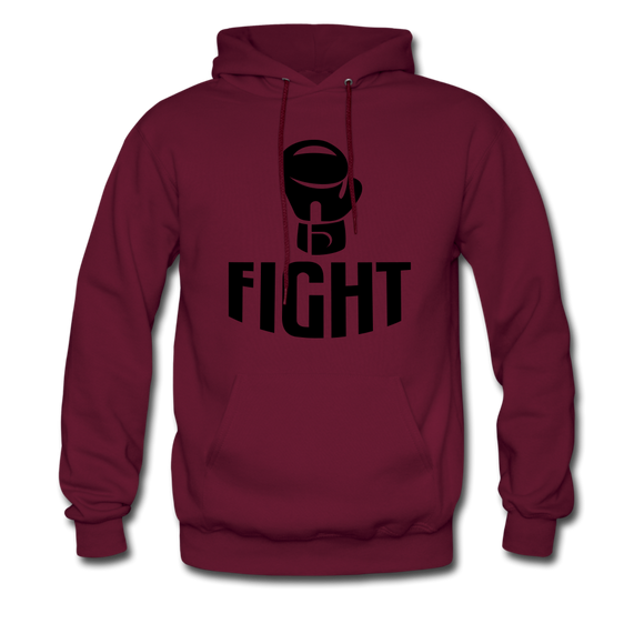 Fight - burgundy