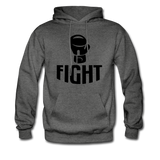 Fight - charcoal gray