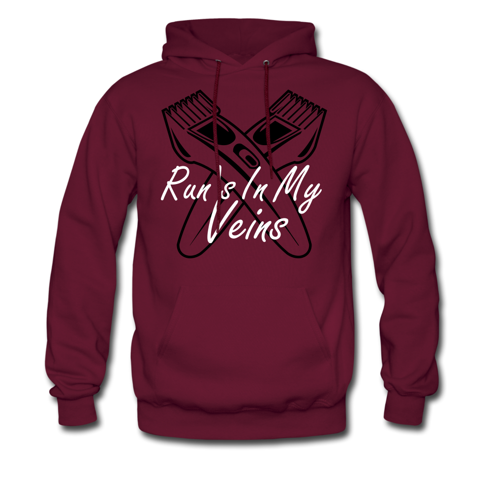 Run's in my Veins - burgundy