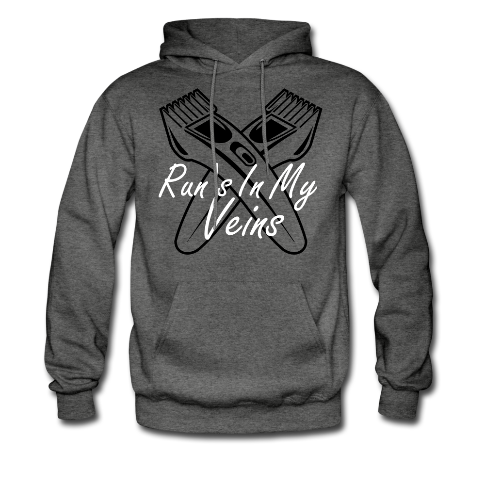 Run's in my Veins - charcoal gray