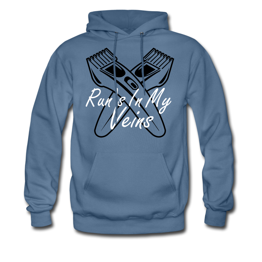 Run's in my Veins - denim blue