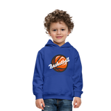 Kid's Basketball Hoodie - royal blue