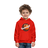 Kid's Basketball Hoodie - red