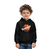Kid's Basketball Hoodie - charcoal gray
