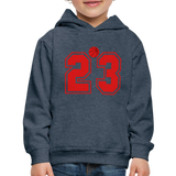 Kids' 23 Hoodie - heather denim