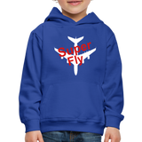 Kid's Super Fly Hoodie - royal blue