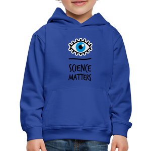 Kid's Science Hoodie - royal blue