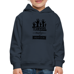 Kid's Team Work Hoodie - navy