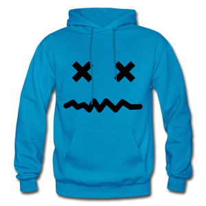 Gone Hoodie - turquoise